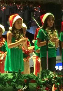 Paseo Christmas Carol Contest 2014